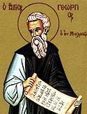 Venerable George of Mount Maleon in the Peloponnesus