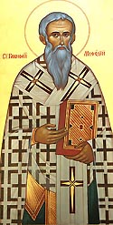Saint Methodius, Equal of the Apostles, Archbishop of Moravia, Enlightener of the Slavs
