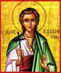 Martyr Calliopius at Pompeiopolis in Cilicia