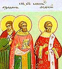 Martyrs James (Jacob) the Presbyter, and Azadanes and Abdicius, Deacons, of Persia