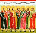 Martyr Theodore and 40 others beheaded at Carthage