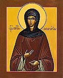 Venerable Athanasia the Abbess of Aegina