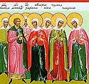 Martyr Quadratus and those with him at Corinth