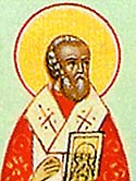 Saint Cosmas, Bishop of Chalcedon, and his fellow ascetic, Saint Auxentius