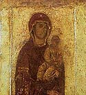Icon of the Mother of God of St Maximus