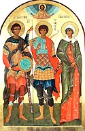 Martyrs Valentine and Pasikrates in Moesia, Bulgaria