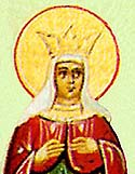 Virginmartyr Kerkyra and those with her