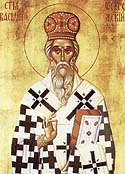 St. Basil the Bishop of Zakholmsk in Montenegro, Serbia