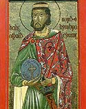 Saint Oswald, king and martyr