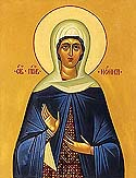 Righteous Nonna the mother of St Gregory the Theologian