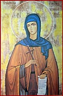 Saint Theodora of Sihla