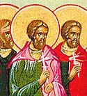 Martyrs Straton, Philip, Eutychian, and Cyprian, of Nicomedia