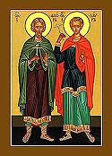 Martyrs Florus and Laurus of Illyria