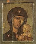 Icon of the Mother of God of Saint Peter of Moscow