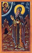 Venerable Serapion, Abbot and Wonderworker of the St. John the Baptist Monastery