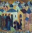 Appearance of the Mother of God to St Sergius of Radonezh