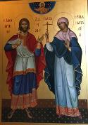 Martyrs Adrian and Natalia and 33 companions, of Nicomedia
