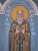Venerable Adrian the Abbot of Ondrusov, Valaam