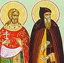 Hieromartyr Kuksha and Venerable Pimen of the Kiev Near Caves