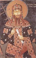 Saint Stephen Urosh, King of Serbia