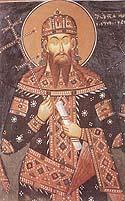 St. Stephen Urosh, King of Serbia