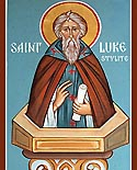Venerable Luke the New Stylite of Chalcedon