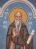 Venerable Tryphon the Abbot of Pechenga (Kolsk)