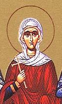 Martyr Zoe at Rome