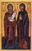 Venerable George the Scribe, and Venerable Sava, of Khakhuli