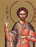 Martyr Themistocles of Myra in Lycia