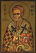 Saint Niphon, Bishop of Cyprus
