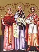 Martyr Glycerius of the 20,000 Martyrs of Nicomedia