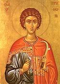 Martyr Tryphon of Campsada Near Apamea in Syria