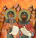 Venerable Barsanuphius the Great