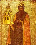 St Vsevolod (in holy baptism Gabriel) the Wonderworker of Pskov