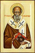 Saint Finan of Lindisfarne