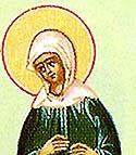 Saint Mariamne the sister of the Apostle Philip