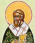 Saint Agapitos the Confessor and Wonderworker, Bishop of Synnada in Phrygia