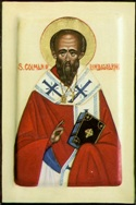Saint Colman of Lindesfarne