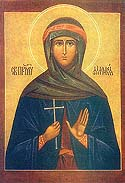 Martyr Philothea the Monastic
