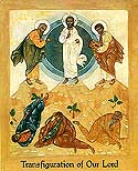 Forefeast of the Transfiguration of our Lord