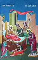 Forefeast of the Nativity of the Mother of God