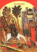 Entry of Our Lord into Jerusalem (Palm Sunday)