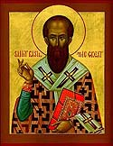 Saint Basil the Great, Archbishop of Caesarea in Cappadocia