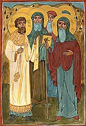 Holy Fathers of the Shio-Mgvime Monastery