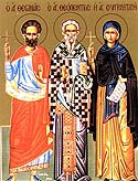 Hieromartyr Theopemptus, Bishop of Nicomedia, and Martyr Theonas