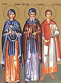 Venerable Domnica of Constantinople