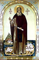 Venerable Antipas of Valaam Monastery