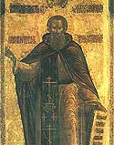 Venerable Paul, Abbot of Obnora, Vologda