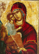 "Icon of the Mother of God of ""the Akathist"""